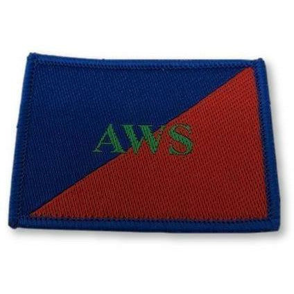Ammo & Company TRF - AGC- AWS - Grn on Red/Blue - 53 x 40mm