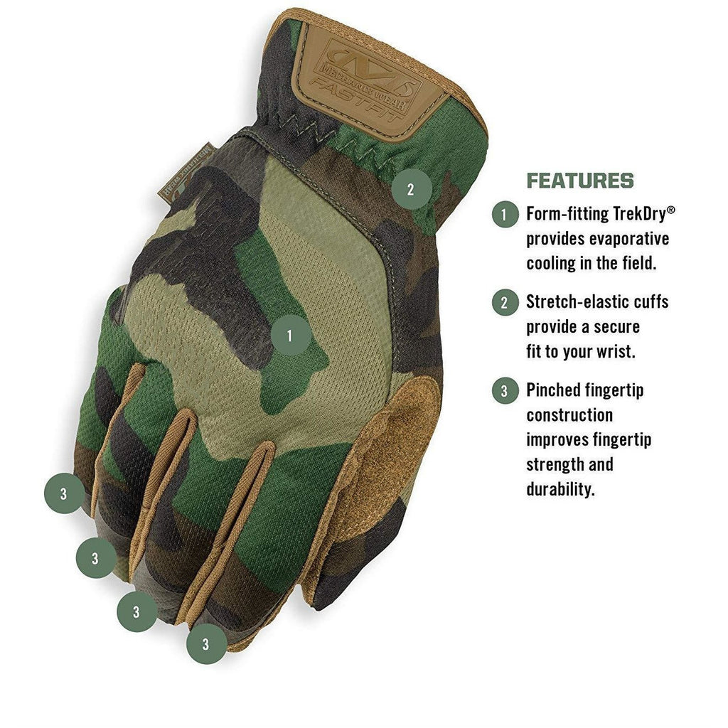 Fastfit Woodland Camo