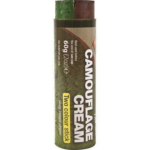 CAMO Cream Stick- Brown/Green - 60g [product_type] BCB - Military Direct