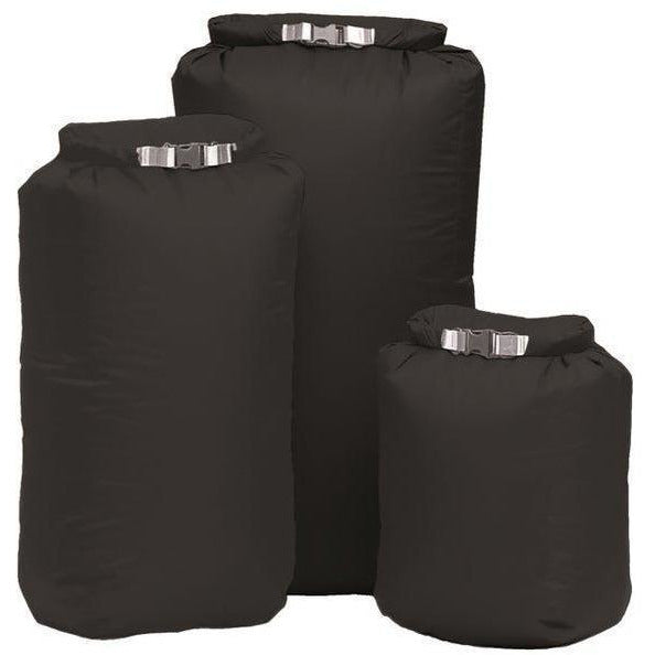 Exped Exped 100% Waterproof Bergan 1 x 140L & 2 x 13L Pocket Liners - Black