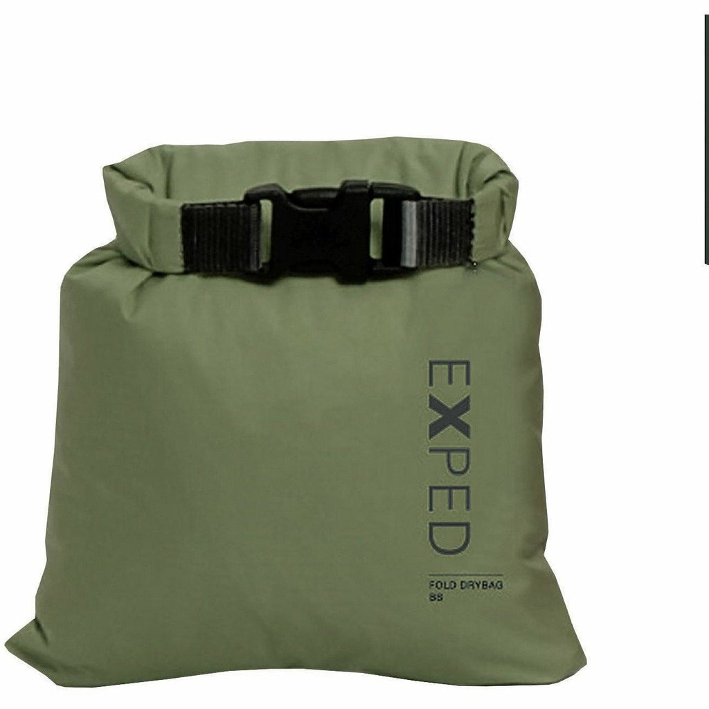 EXPED 100/% Waterproof Fold Dry Bag Black XXS 1 Litre