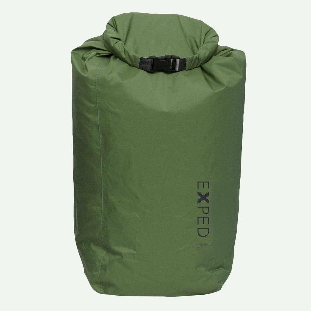 Exped Exped 100% Waterproof Fold-Drybag - Olive - XL - 22L