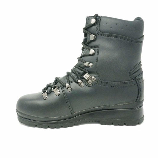 Highlander Cadet MoD Black Boots Highlander Black Waterproof Leather Elite Boot - Youth Sizes 3 to 5