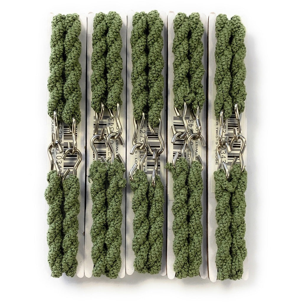 5 PAIRS - Trouser Twists - Olive