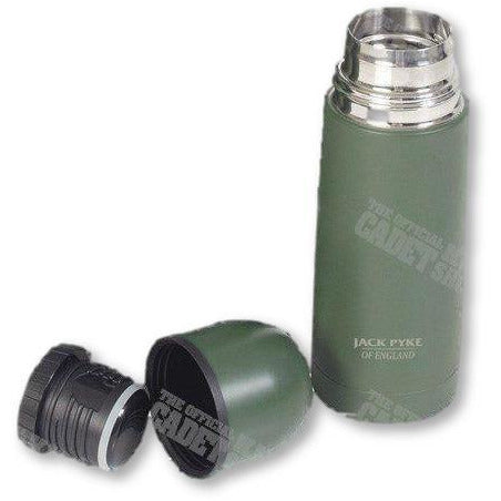 Jack Pyke Survival Accessories Jack Pyke Stainless Steel Green Flasks 730ml