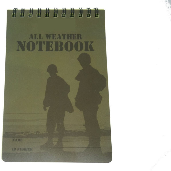 Military.Direct A6 Notebook - All weather x 50 Sheets - Grid