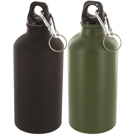 Military.Direct Aluminium Bottle 500ml - Olive