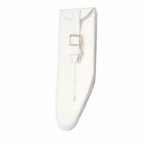 Bb Flute Pouch White PVC Gloss Finish