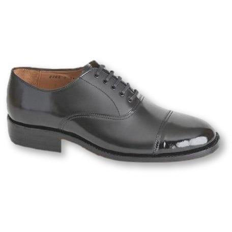Oxford Shoe with Patent Toe Cap Parade Footwear Military Direct - Military Direct