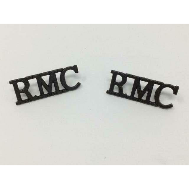 RMC Metal Shoulder Title Shoulder Titles & Pins Military Direct - Military Direct