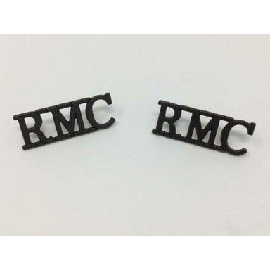 Military Direct Cadet Shoulder Titles & Pins RMC Metal Shoulder Title