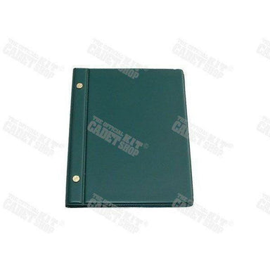 Military Direct Cadet Waterproof Notebooks & Binders A4 Green Expandable Hardcover Binder