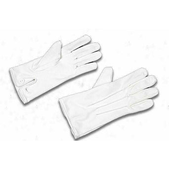 Military Direct Ceremonial Parade Gloves Other Ranks White Parade Gloves