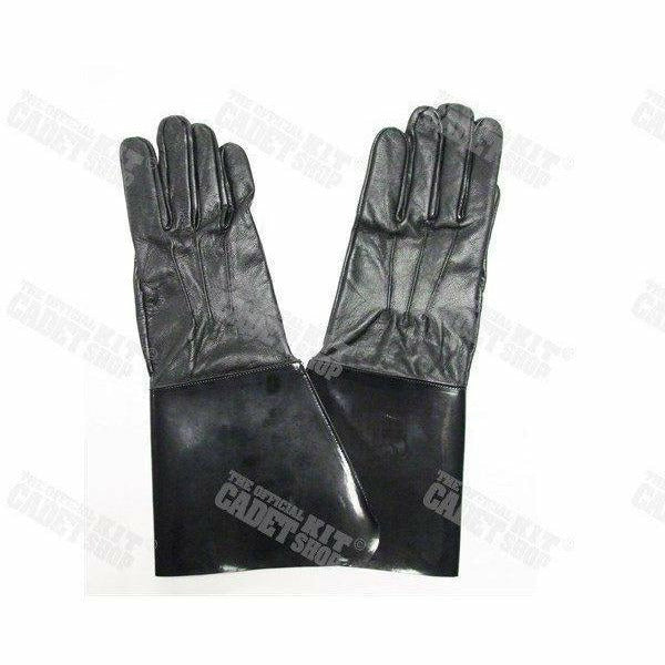 Gauntlet Gloves Black Ceremonial Parade Gloves Military Direct - Military Direct