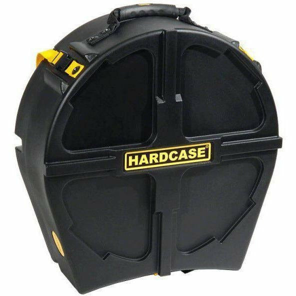 Hardcase 14 inch Black Drum Case  - Suitable for All Makes of Traditional Side Drums that Feature Metal Hoops