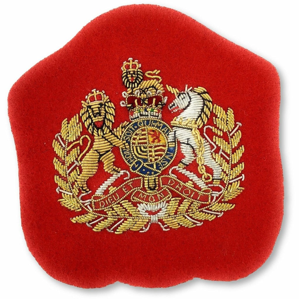 Mess Dress - Senior Warrant Officer worn by Corps RSM & Command SM - Gold on Scarlet Ground [product_type] Military.Direct - Military Direct