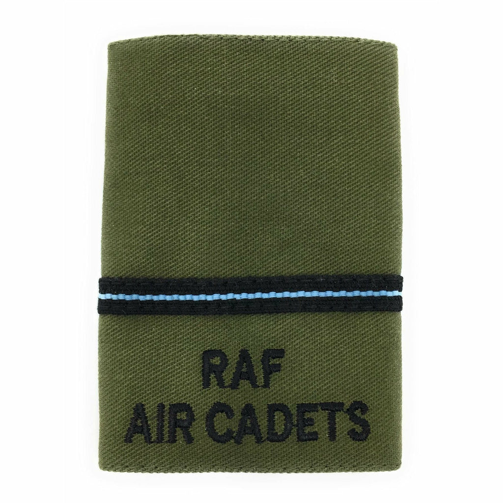 RAFAC - Officers' Rank Slide - Pilot Officer - Olive [product_type] Military.Direct - Military Direct