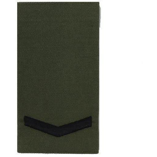 Royal Marines Olive Rank Slide