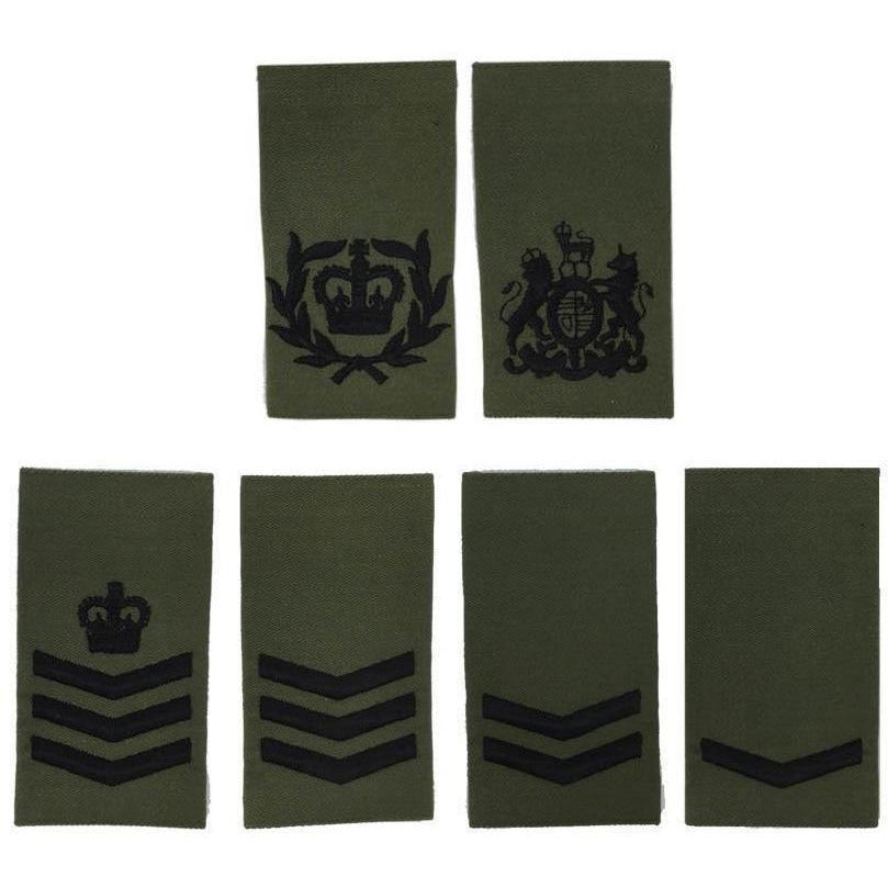 Royal Marines Olive Rank Slide Rank Slides Military Direct - Military Direct