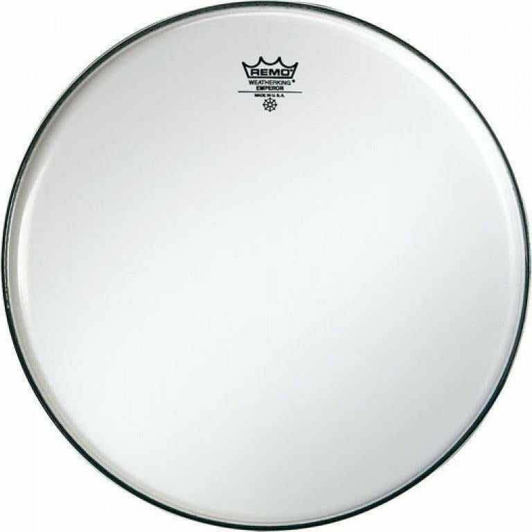 "Remo 14"" Emperor Smooth 2 ply White Side Drum Head (Batter/Top) [product_type] Military.Direct - Military Direct"