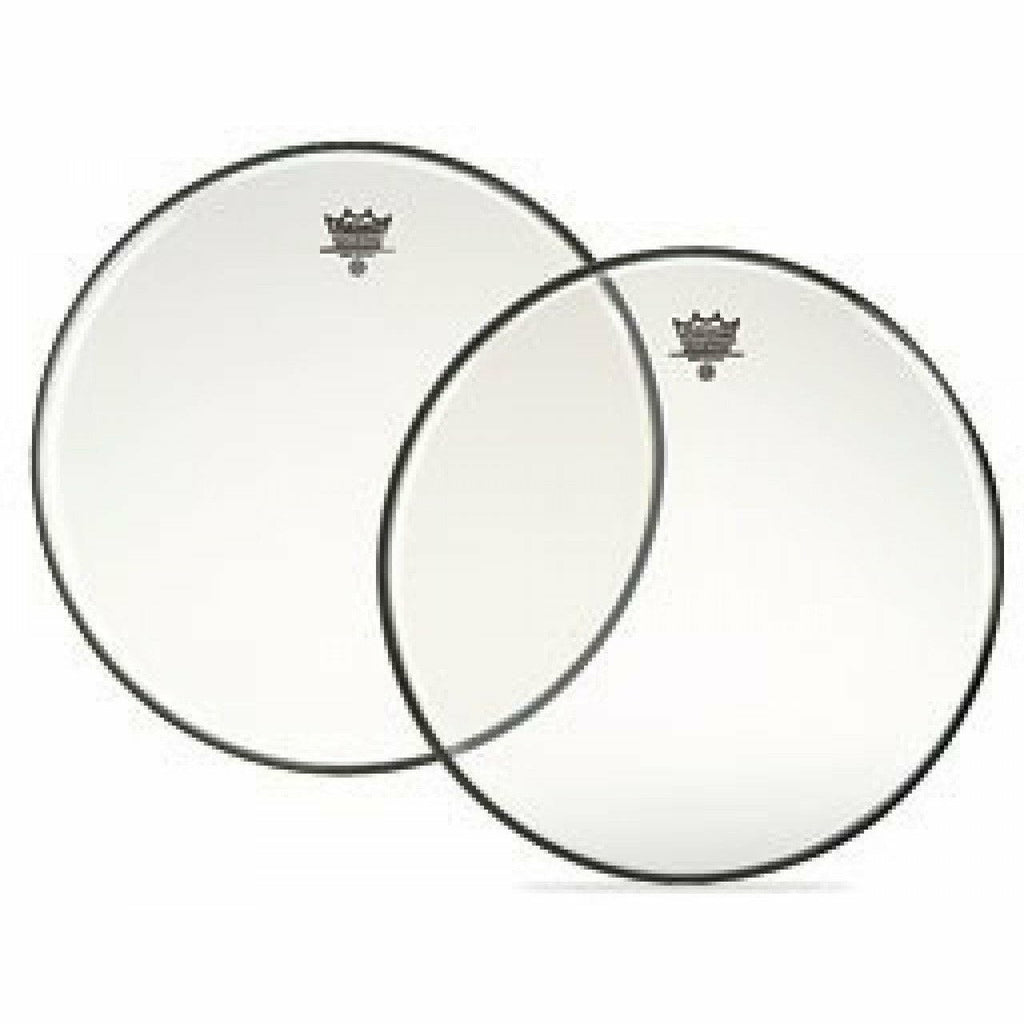 Remo 16 inch Ambassador Clear Tenor  Drum Skin Head (Bottom) [product_type] Military.Direct - Military Direct