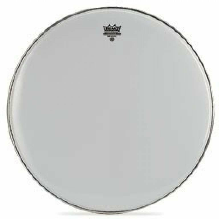 Remo 28 inch Ambassador Smooth White Bass Drum Head [product_type] Military.Direct - Military Direct