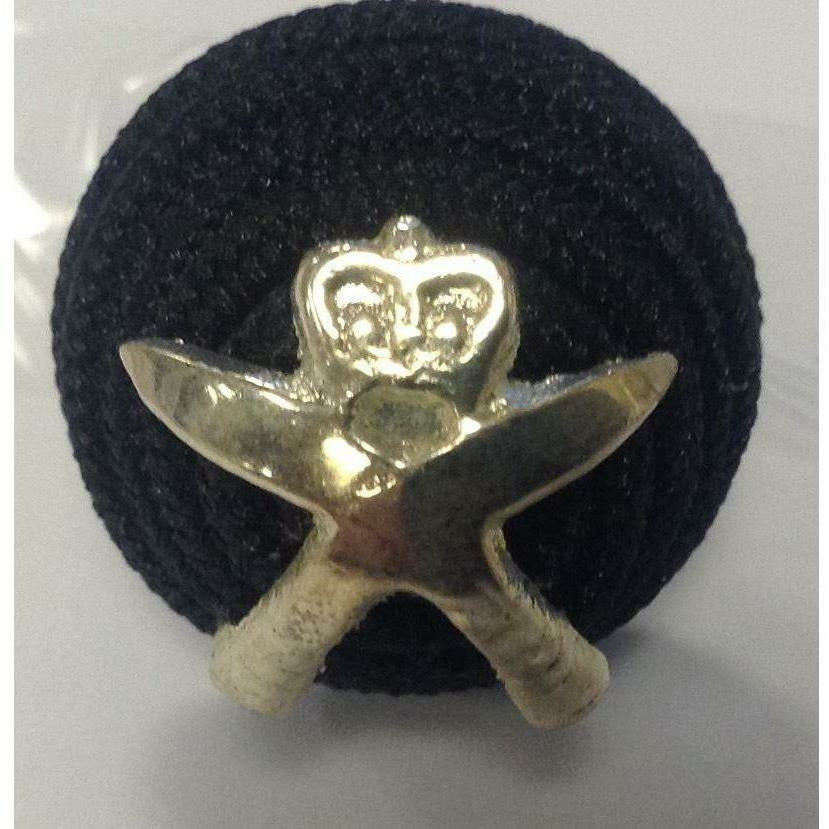 RGR -Officers' Side Hat Beehive Boss Badge [product_type] Military.Direct - Military Direct