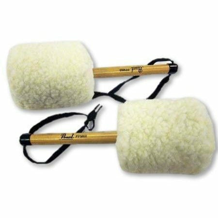 Pearl Pearl PPM-60 Pattern Pipe Band Bass Drum Beaters White