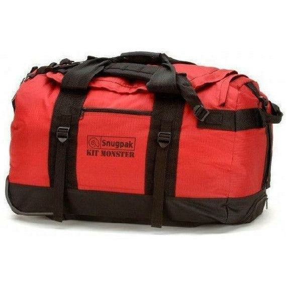 Snugpak Kit Monster 65L Holdall Red Bags Snugpak - Military Direct