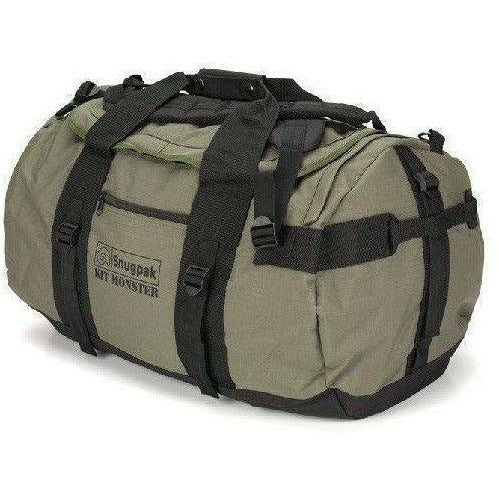 Snugpak Kit Monster 65L Holdall Olive Carry Snugpak - Military Direct