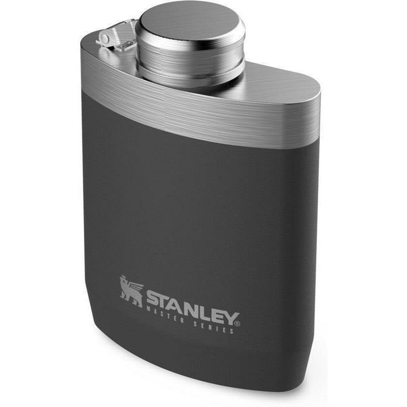 Stanley Master 230ml Flask (Foundry Black) [product_type] Stanley - Military Direct