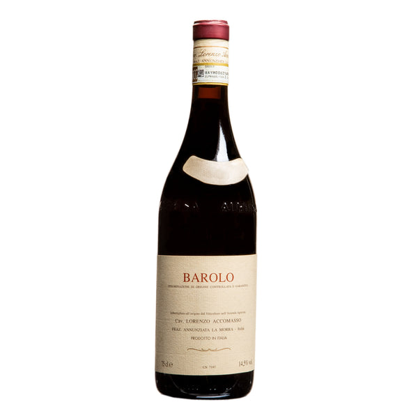 Accomasso, Barolo 2010 from Accomasso - Parcelle Wine