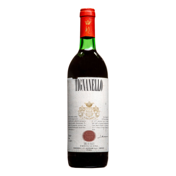 Antinori, 'Tignanello' 1989 from Antinori - Parcelle Wine