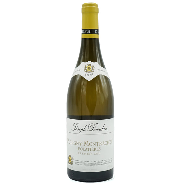 Drouhin, 'Folatières' 1er Cru Puligny-Montrachet 2016 from Drouhin - Parcelle Wine