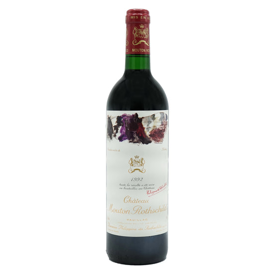 Château Mouton Rothschild, Pauillac 1992 from Château Mouton Rothschild - Parcelle Wine