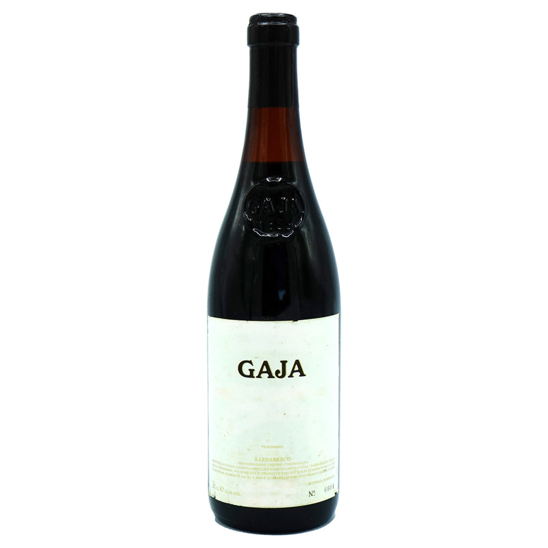 Gaja, Barbaresco 1978 from Gaja - Parcelle Wine