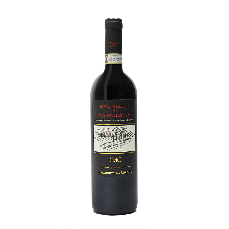 Cerbaie, Brunello di Montalcino 2008 from Cerbaie - Parcelle Wine