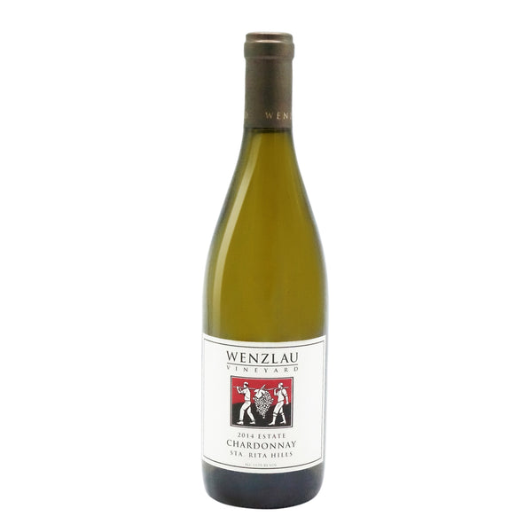 Wenzlau Vineyard, Santa Rita Hills Chardonnay Estate 2014 from Wenzlau Vineyard - Parcelle Wine