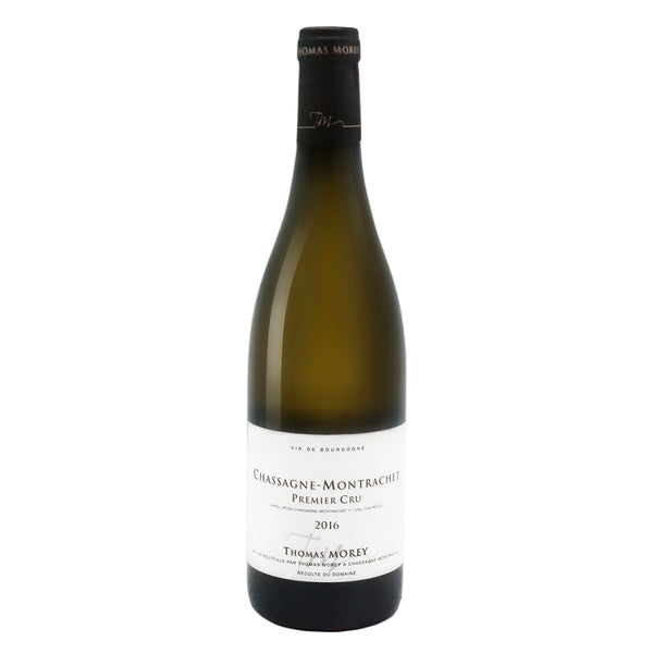 Thomas Morey, 1er Cru Chassagne-Montrachet 2016 from Thomas Morey - Parcelle Wine