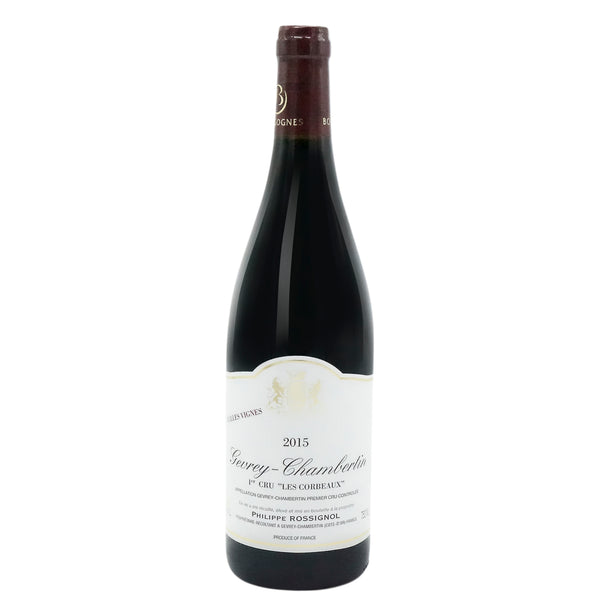 Philippe Rossignol, 'Les Corbeaux' 1er Cru Gevrey-Chambertin 2015 from Philippe Rossignol - Parcelle Wine