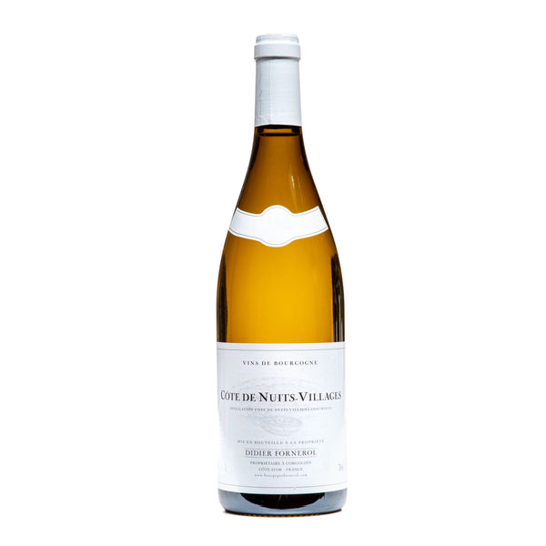 Domaine Didier Fornerol, Côte de Nuits-Villages Blanc 2018 from Didier Fornerol - Parcelle Wine