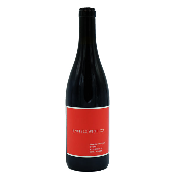 Enfield Wine Co., 'Haynes Vineyard' Syrah Napa Valley 2017 from Enfield Wine Co. - Parcelle Wine