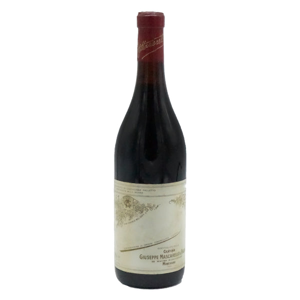 Giuseppe Mascarello, Barbera d'Alba 1960s from Giuseppe Mascarello - Parcelle Wine