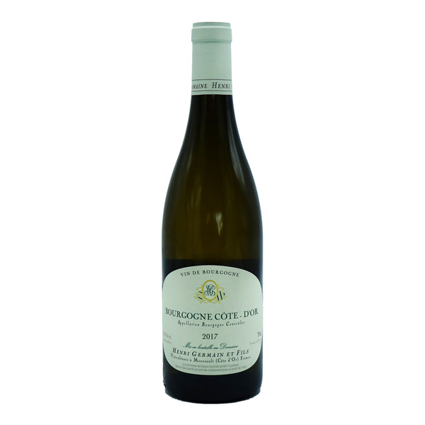 Henri Germain, Bourgogne Blanc 2017 from Henri Germain - Parcelle Wine