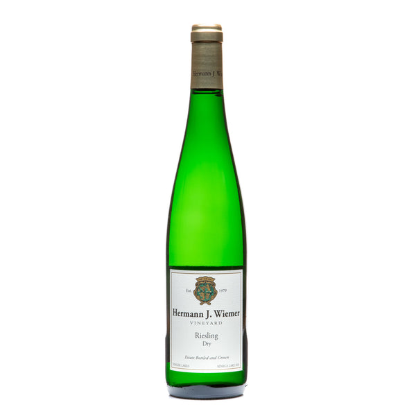 Hermann J. Wiemer, Dry Riesling Seneca Lake 2019 from Hermann J. Wiemer - Parcelle Wine