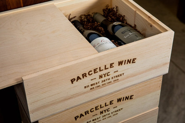 Wooden Gift Box from Parcelle - Parcelle Wine
