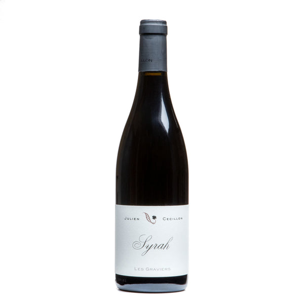 Julien Cécillon, 'Les Graviers' Syrah Rhône 2018 from Julien Cecillon - Parcelle Wine