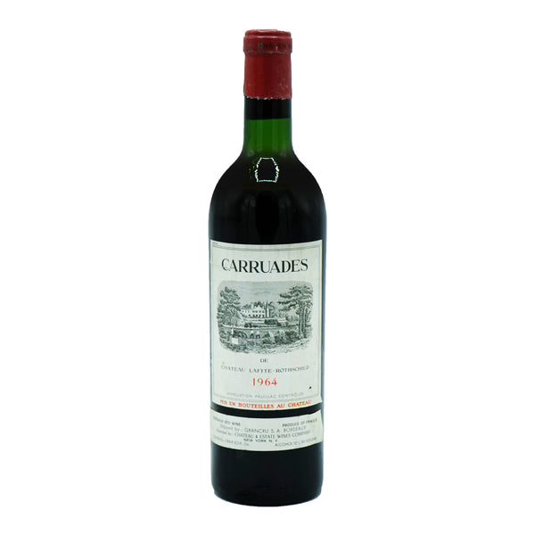 Château Carruades, Pauillac 1964 from Carruades - Parcelle Wine