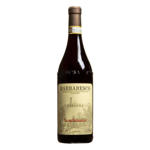 Luigi Giordano, 'Cavanna' Barbaresco 2016 from Luigi Giordano - Parcelle Wine