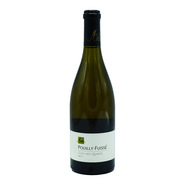 Olivier Merlin, 'Clos des Quarts' Pouilly-Fuisse 2011 from Olivier Merlin - Parcelle Wine